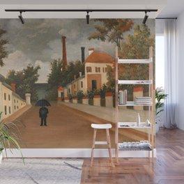 Henri Rousseau - Vue des environs de Paris Wall Mural