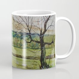 Roseberry topping plein air 29th mar Coffee Mug