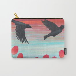 crows, tulips, & snails Carry-All Pouch