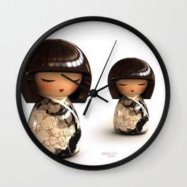 Kokeshi 08 Wall Clock