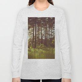 Summer Forest Sunlight - Nature Photography Long Sleeve T-shirt