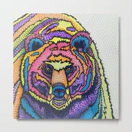 I Can't Bear it! Metal Print