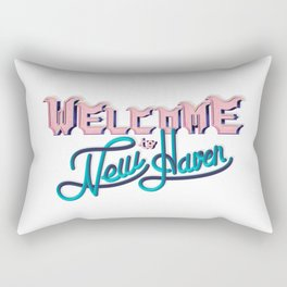 WELCOME TO NEW HAVEN Rectangular Pillow
