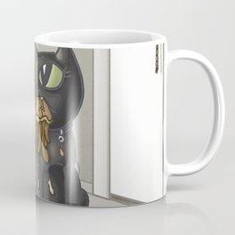 Beebee Versus the Jellyfish Coffee Mug
