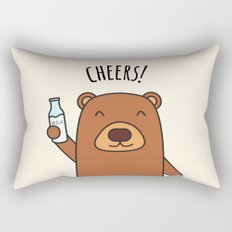 Cheers, Bear! Rectangular Pillow