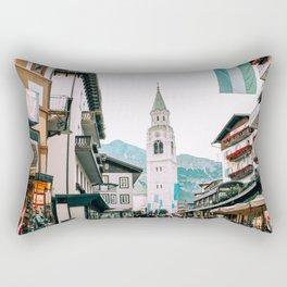 Time Stands Still   Cortina d'Ampezzo, Italy Rectangular Pillow