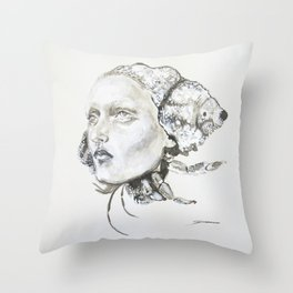 Sea Shell 1 Throw Pillow