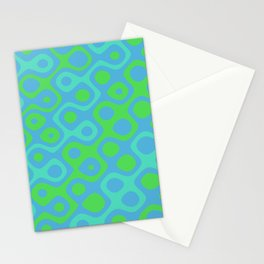Brain Coral Green Banded - Coral Ree Series 020 Stationery Cards