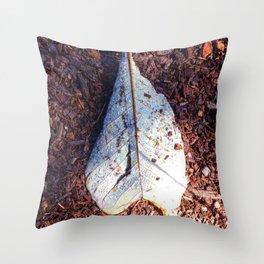 Dewey Leaf Throw Pillow