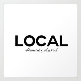 Local - Skaneateles, New York Art Print