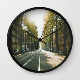 Amsterdam City Wall Clock