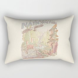 Adventure National Parks Rectangular Pillow