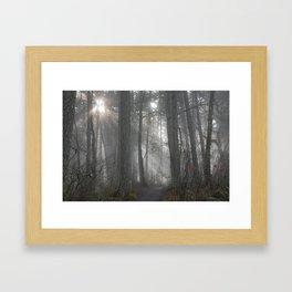 Breaking Through Framed Art Print