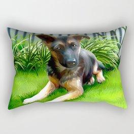 Lua the cutest GS Pup Rectangular Pillow