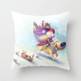 Christmas Companion Throw Pillow