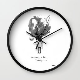 the way i feel Wall Clock