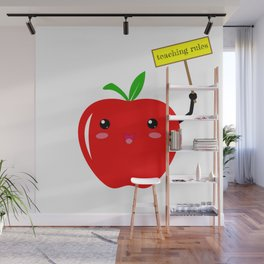 Teaching Rules Teacher Lesson Teaching Back To School First Day Of School Wall Mural