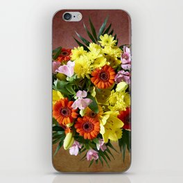 Bouquet Flowers iPhone Skin