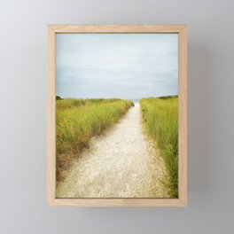Cape Ann Beach Trail Framed Mini Art Print