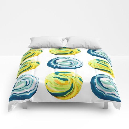 Marbling Tic Tac Toe Comforters