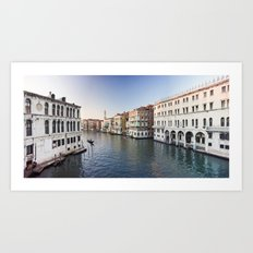 italy - venice - widescreen_559-560 Art Print