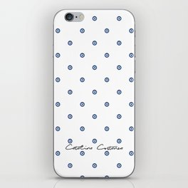 Bon Chance Blanc iPhone Skin