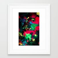 splash Framed Art Prints featuring Splash by RIZA PEKER