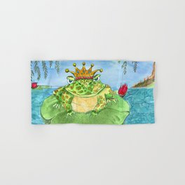 Frog King Hand & Bath Towel