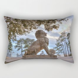 Lions Bridge At Sunset Rectangular Pillow