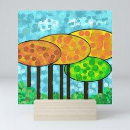 Autumn Landscape Mini Art Print