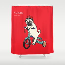 Haters gonna hate NJ Shower Curtain