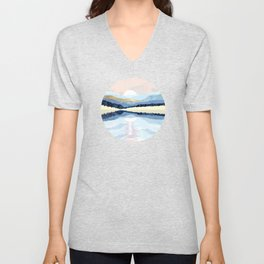 Winter Reflection Unisex V-Neck