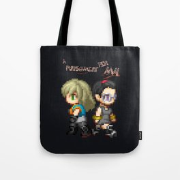 Mai and Lucy Pixel Tote Bag