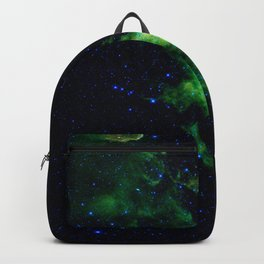 Galaxy: Green Witch's Head Nebula Backpack