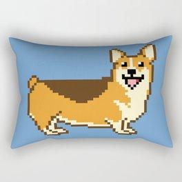 8-Bit Corgi Rectangular Pillow