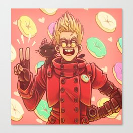 Doughnut King Vash the Stampede Canvas Print
