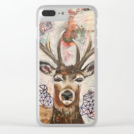 Graceful Intuition Clear iPhone Case