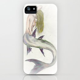 Mermaid Passion in Color iPhone Case