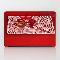 om iPad Cases featuring om by Loosso