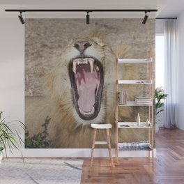 Show me your teeth! Wall Mural