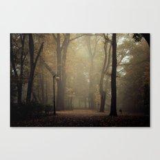 Golden silence Canvas Print