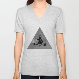 Abstract Triangle Unisex V-Neck