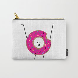 Happy Donut Carry-All Pouch
