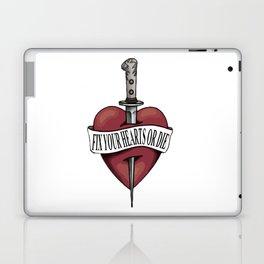 Fix Your Hearts Or Die (Wild) Laptop & iPad Skin