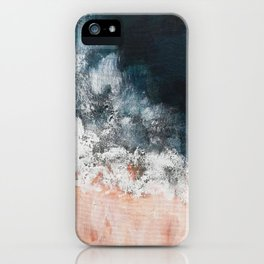 Aerial ocean, coast,  beach, waves, sea, prints, project iPhone Case