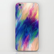 Paint Feathers in the Sky iPhone & iPod Skin