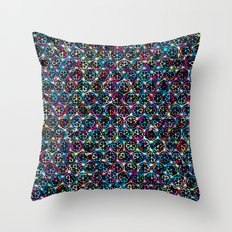 Stardust Geometric Art Print. Throw Pillow