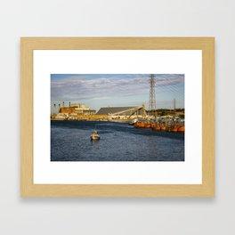 Ready to sail Framed Art Print