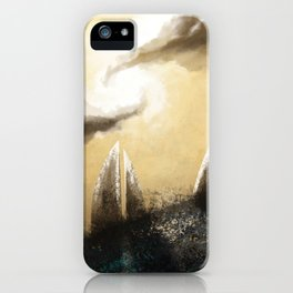 Ray of Light 3 iPhone Case