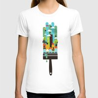 child T-shirts featuring Paint your world by Picomodi